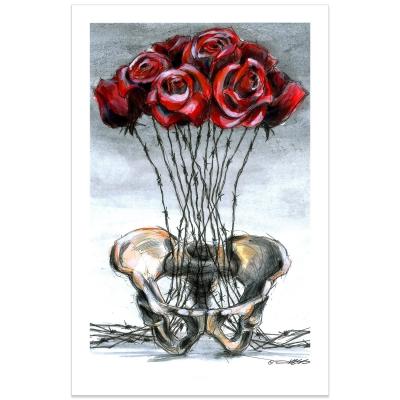 Derek Hess - Vase | Poster