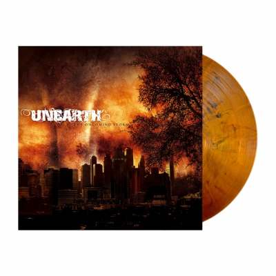 Unearth - The Oncoming Storm | Orange-Brown Mabrled Vinyl