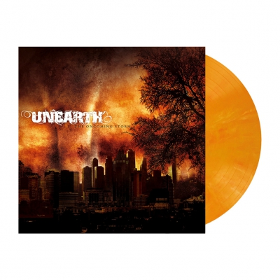 Unearth - The Oncoming Storm | Pumpkin Orange Marbled Vinyl
