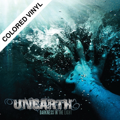 Unearth - Darkness In The Light | Light Blue Sparkle Vinyl
