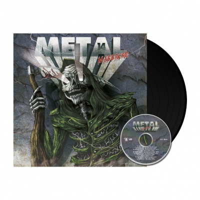 shop - Metal Massacre 14 | 180g Black Vinyl