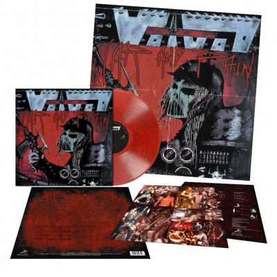 Voivod - War And Pain | Transparent Red/Black Marbled Vinyl