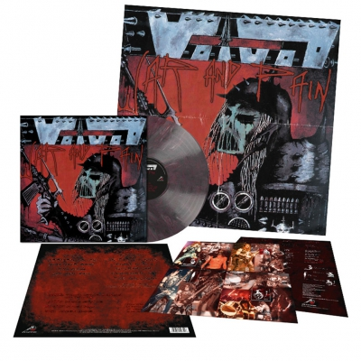 Voivod - War And Pain | Deep Purple/Black Marbled Vinyl