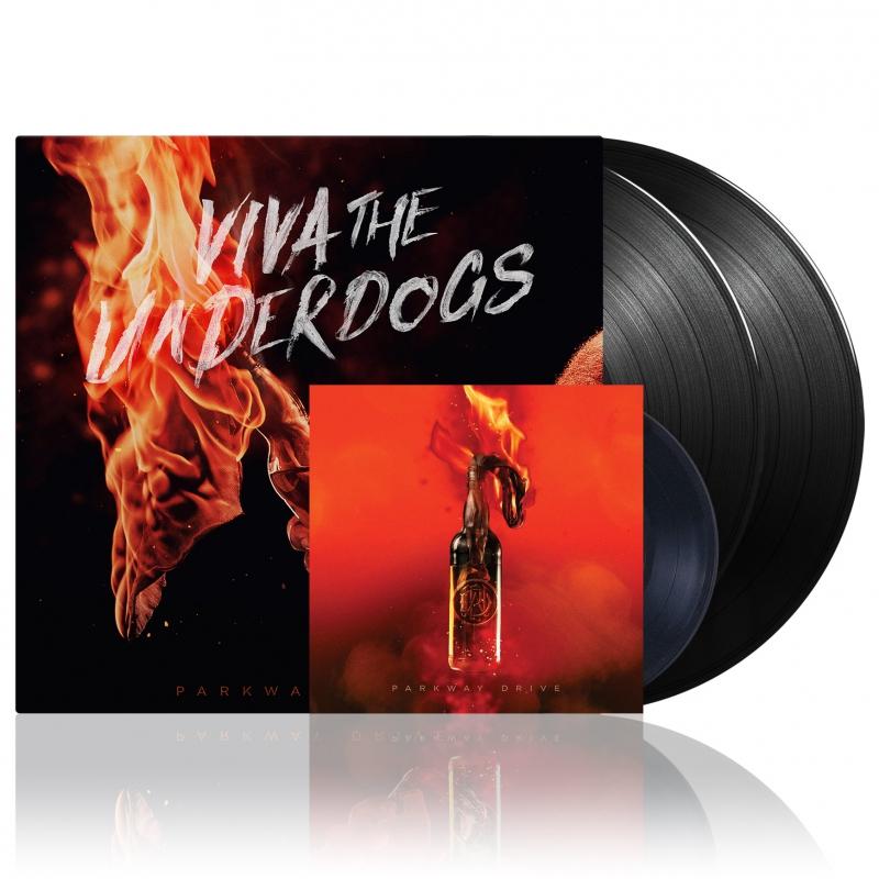 Parkway Drive - Viva The Underdogs | 2xBlack Deluxe Vinyl + 7 Inch