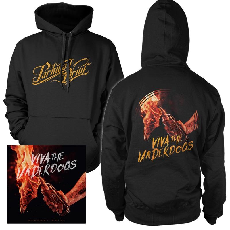 Parkway Drive - Viva The Underdogs | CD+Hoodie Bundle