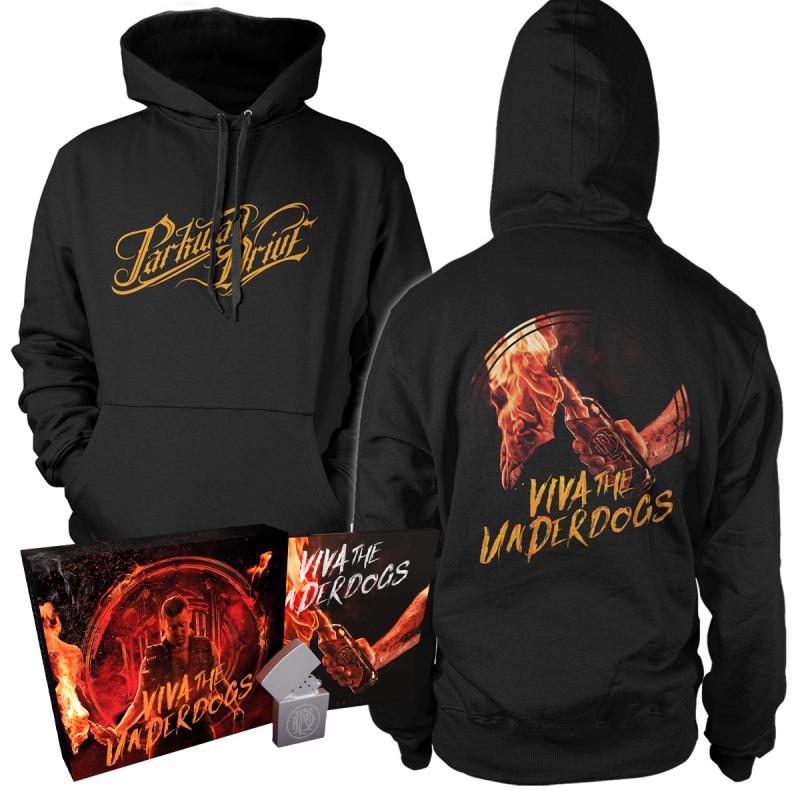 Parkway Drive - Viva The Underdogs | Deluxe CD Boxset+Hoodie Bundle