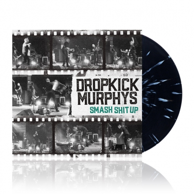 "dropkick-murphys - Smash Shit Up | Black w/Mustard 12""Vinyl EP"