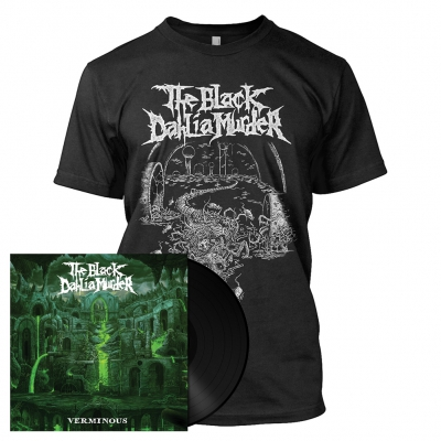 The Black Dahlia Murder - Verminous | 180g Black Vinyl Bundle