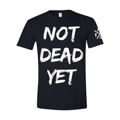 frank-turner - Not Dead Yet Black | T-Shirt