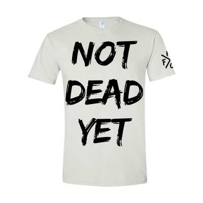 frank-turner - Not Dead Yet White | T-Shirt