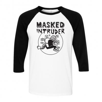 Masked Intruder - Robber | Baseball Longsleeve