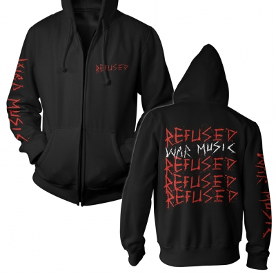 refused - War Music Repeater | Zip Hood