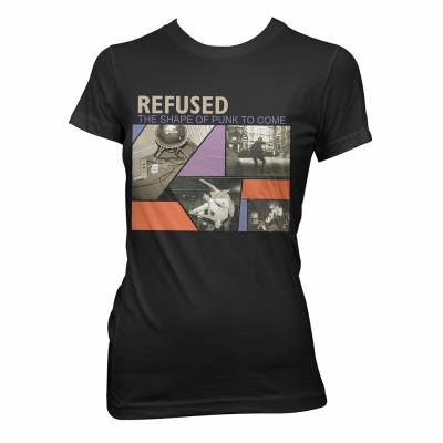 Refused - The Shape Of Punk | Fitted Girl T-Shirt