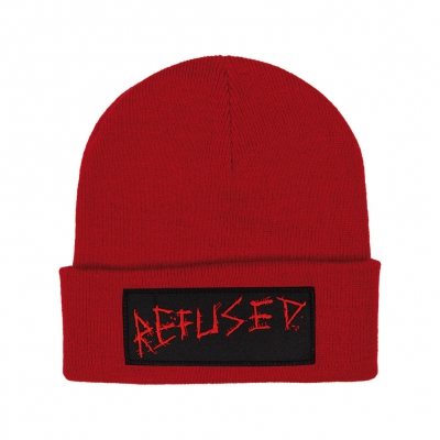 refused - War Music Logo Red | Beanie