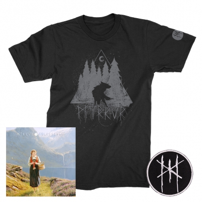 myrkur - Folkesange | CD+Patch+Wolf T-Shirt Bundle