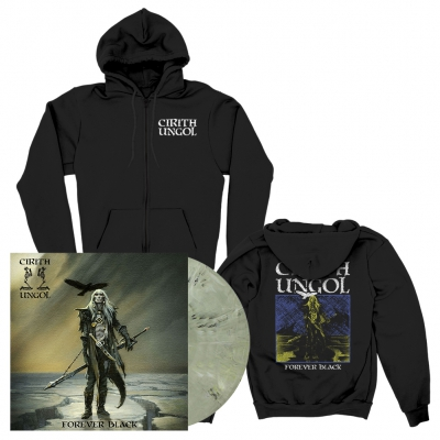 Cirith Ungol - Forever Black | LP+Zip-Hood Bundle