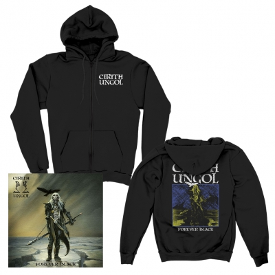 cirith-ungol - Forever Black | CD+Zip-Hood Bundle