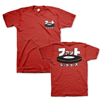 Fat Wreck Chords - Japanese Logo Red | T-Shirt