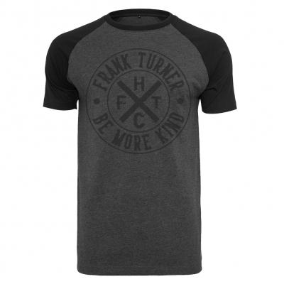 frank-turner - FTHC Circle Logo Charcoal | Raglan T-Shirt