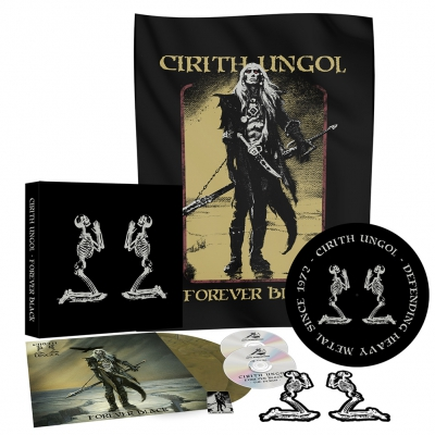 Cirith Ungol - Forever Black | Vinyl Box Set