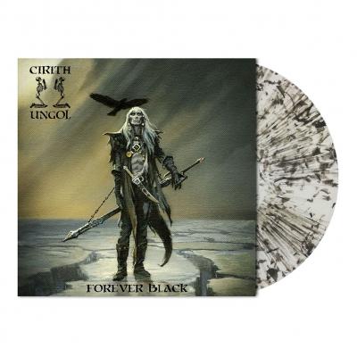 Cirith Ungol - Forever Black | Clear/Black Dust Vinyl
