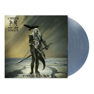 metal-blade - Forever Black | Light Blue/Red Marbled Vinyl