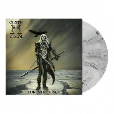 shop - Forever Black | White/Black Marbled Vinyl