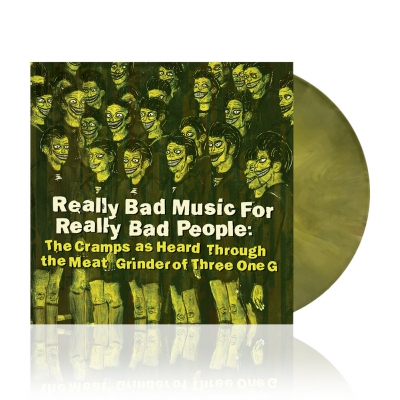 Really Bad Music For... | Yellow/Black Swirl Vinyl