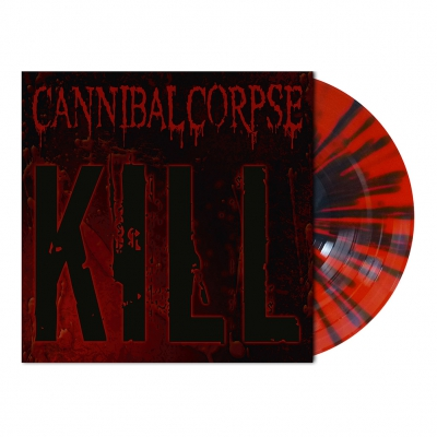 Cannibal Corpse - Kill | Red/Black Splatter Vinyl