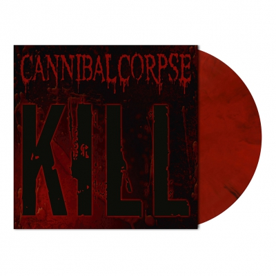 Cannibal Corpse - Kill | Opaque Red/Black Marbled Vinyl