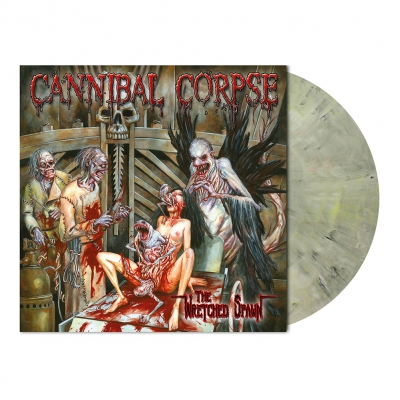Cannibal Corpse - The Wretched Spawn | Ivory Beige Marbled Vinyl