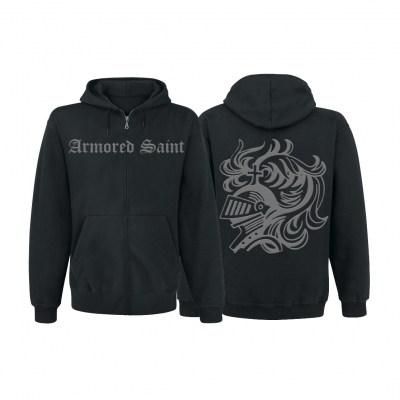 Armored Saint - Logo Tour | Zip-Hood