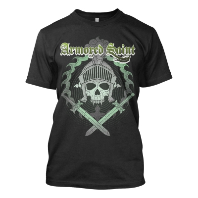Armored Saint - Mask | T-Shirt