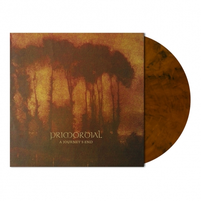 Primordial - A Journey's End | Auburn Marbled Vinyl