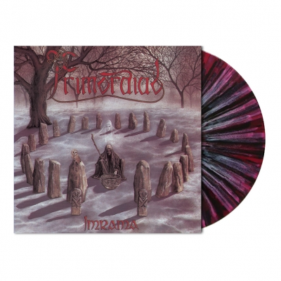 shop - Imrama | Violet Black&White Splatter Vinyl