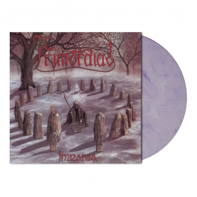 shop - Imrama | White/Purple Marbled Vinyl