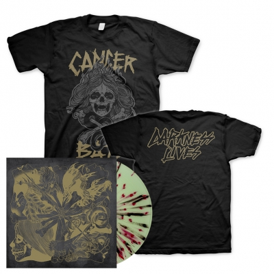 Cancer Bats - Darkness Lives | Splatter Vinyl Bundle