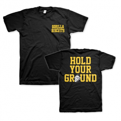 Hold Your Ground Pocket Black | T-Shirt