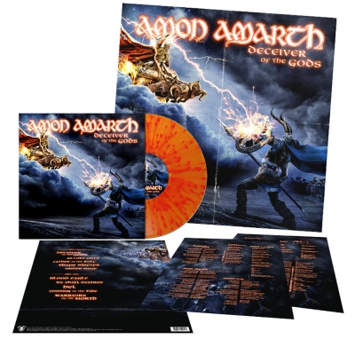 shop - Deceiver Of The Gods | Flame Splatter Vinyl