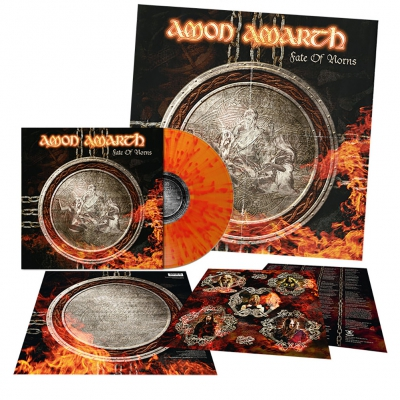 Amon Amarth - Fate Of Norns | Fire Splatter Vinyl