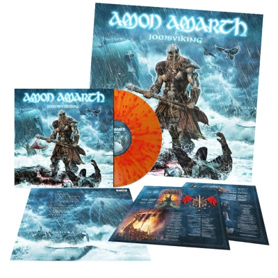 Amon Amarth - Jomsviking | Flame Splatter Vinyl