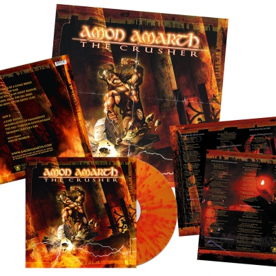 Amon Amarth - The Crusher | Fire Splatter Vinyl