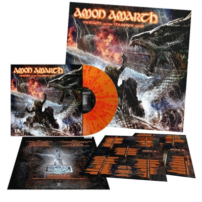 Amon Amarth - Twilight Of The Thunder God | Fire Splatter Vinyl