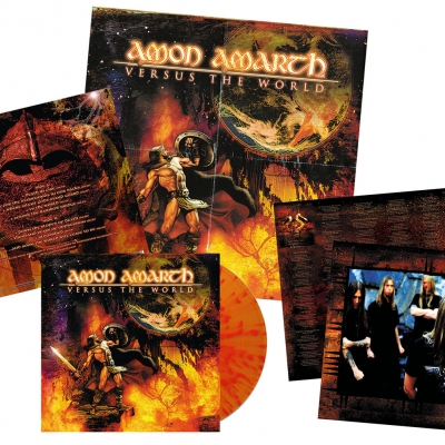 Amon Amarth - Versus The World | Flame Splatter Vinyl