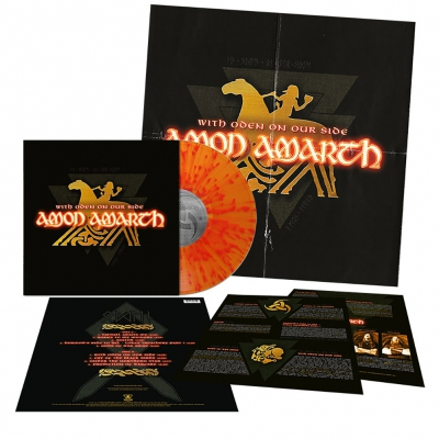 Amon Amarth - With Oden On Our Side | Flame Splatter Vinyl
