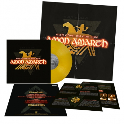 Amon Amarth - With Oden On Our Side | Golden Yellow Marbled Viny