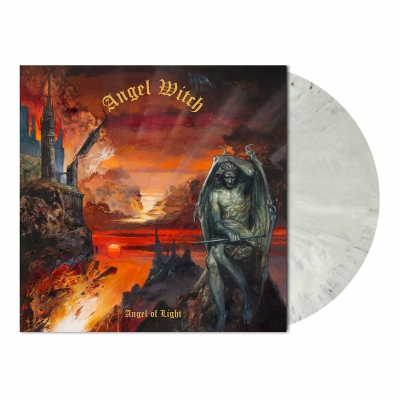 Angel Witch - Angel of Light | White/Black Marbled Vinyl