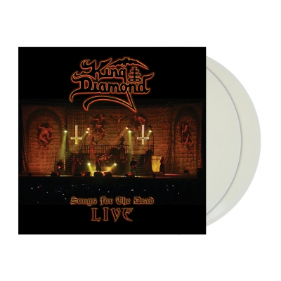 King Diamond - Songs For The Dead Live | 2xClear Ghost White Viny