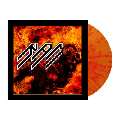 shop - Rod | Flame Splatter Vinyl