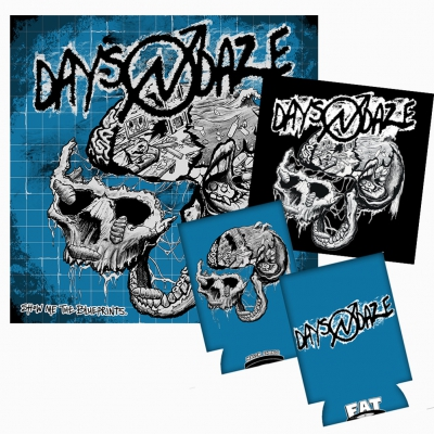Days N Daze - Show Me The Blueprints. | Black Vinyl Bundle